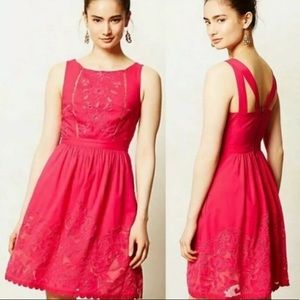 Anthropologie Moulinette Souers Rhododendron Dress